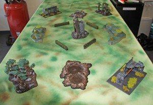 Plains / Forest Table
