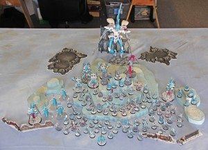 Eldar ready for war.