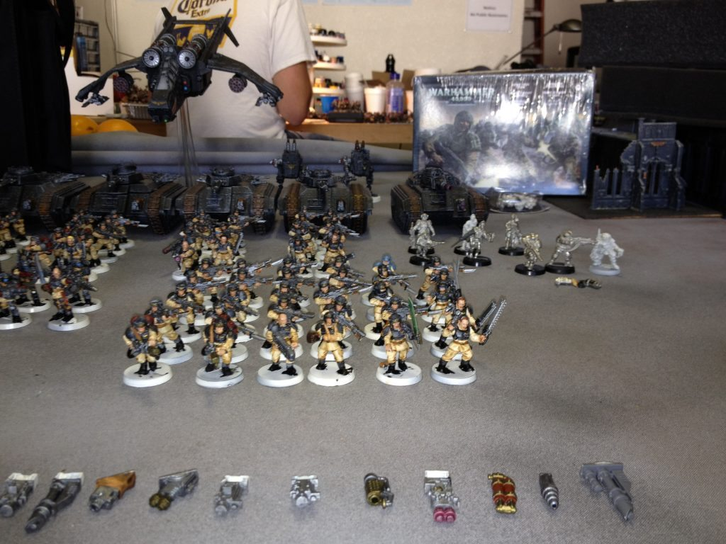 Army Vehicles For Sale >> 40K Army for Sale: Imperial Guard (Sold) | Frontline Gaming