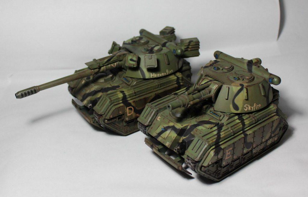 Ratgard New Releases: Imperial Guard Tank Conversion Kits