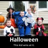 This kid's dad is a BOSS for making such a cool costume!