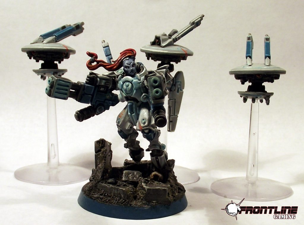 Tau Commander Farsight And Shadowsun Frontline Gaming