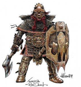 Dimak Hammerfist: Dwarf Fighter