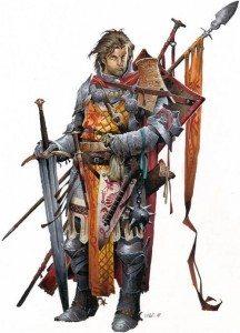 Lance Farstrider: Human Cavalier: NPC