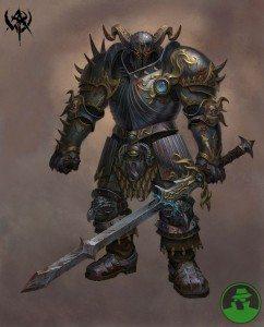 Sandor the Stern: Cleric of Gorum: NPC