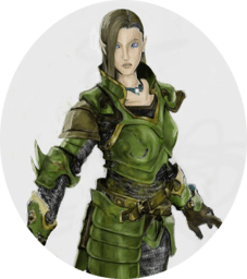 Shayleesta: Half-Elf Cleric of Iomedae: NPC
