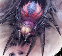 A pair of Giant Spiders attack!