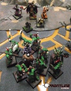 The party rushes back to find Sandor amidst the Orc women and children!