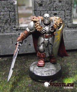 Sandor the Stern: Human Cleric of Gorum: NPC