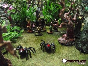 Giant Spiders attack!