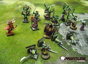 The Orc spring their ambush!