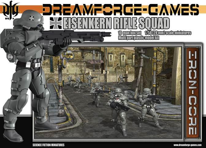 Eisenkern Stormtrooper Rifle Squad