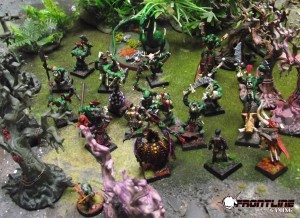The party is spotted by the Orcs, and they clash among the trees of the Fangwood Forest!