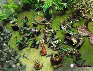 After Durbag used a hex to put the Forest Drake to sleep, Dimak delivered a coup de grace!