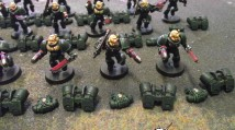 Dark Angels Assault Marines