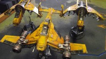 Vulture Gunships and Avenger Strike Fighter