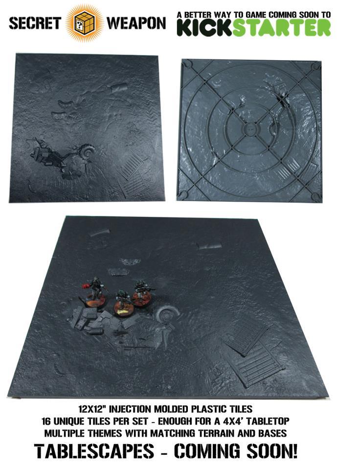 Secret Weapon Terrain Tiles