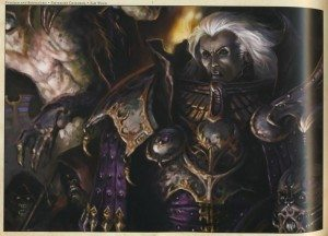 Primarch Fulgrim of the Emperors Children.