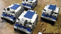 Pre-Heresy World Eaters Rhinos