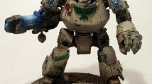 Dark Angels Contemptor Dreanaught