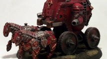 Warmachine: Khador Iron Fang Pikemen and Gun Carriage
