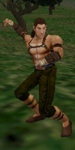 Our lead designer, Doug, was an animator for Everquest and the Monk had some of his favorite work!