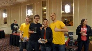 JY2 and Chuck Pierce, 40K Doubles Champs!