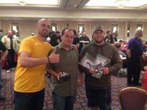 Gordy and Ben, Team Tournament Winners!