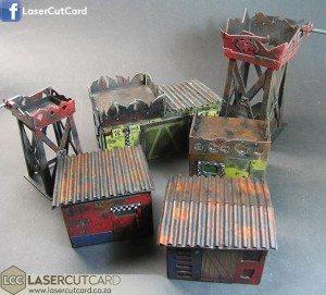laser cut card