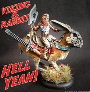 viking on rabit