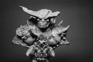 Daemon-Warrior-Bust