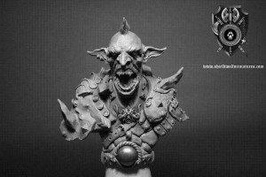 Goblin-Warrior-Bust