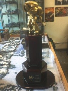 Who will the next champion be to place their name on the Elvis Berzerker LVO Trophy?!