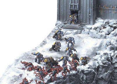 Magnir's Crag - Space wolves Terrain  (6)