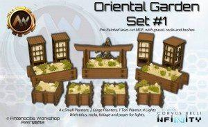 oriental garden set