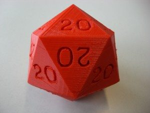 I roll 20's - 20 sided die for WINNERS!