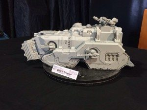 Iron Warriors Siege Transport 'Mastodon'