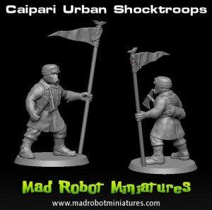 Mad Robot Plastic Steel Legion