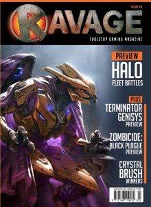 Ravage cover art HALO