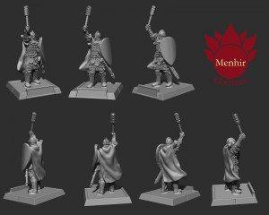 Rus warrior Menhir