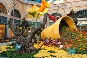 Bellagio in Las Vegas Unveils Whimsical Spring Wonderland. (PRNewsFoto/MGM Mirage)