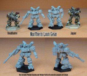 heavy gear lion