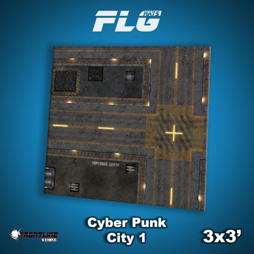3x3 Cyber Punk City 1 WC