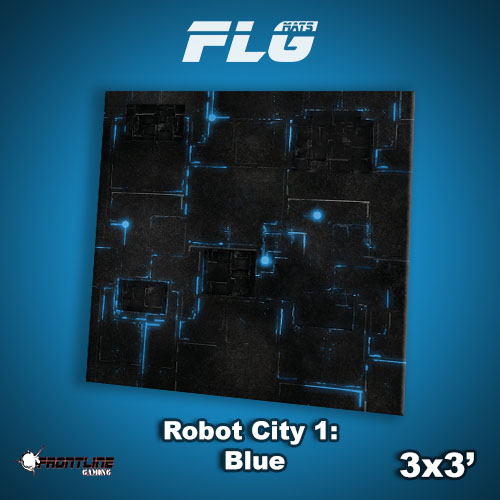 3x3 Robot City 1- Blue WC