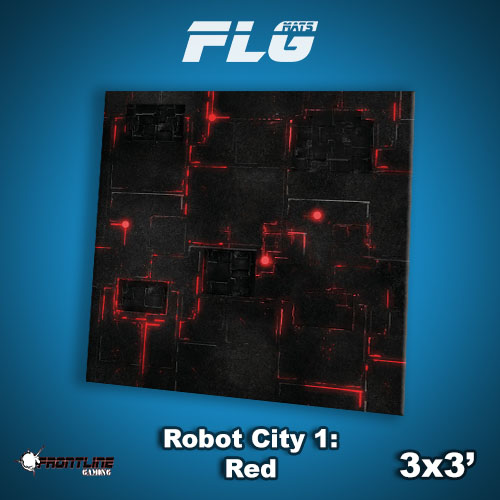 3x3 Robot City 1- Red WC