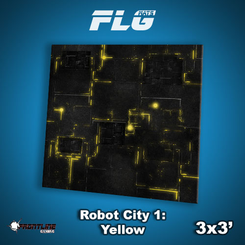 3x3 Robot City 1- Yellow WC