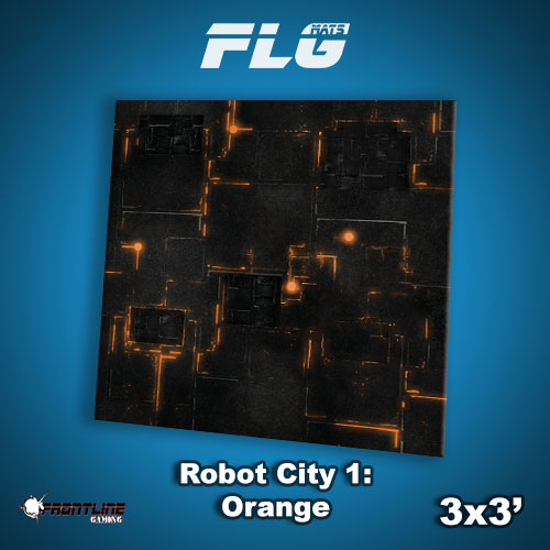 3x3 Robot City Orange WC