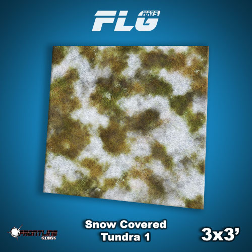 3x3 Snow Covered Tundra 1 WC