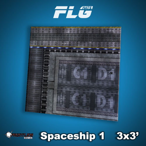 3x3 Spaceship 1 WC