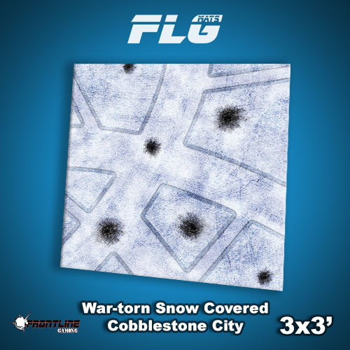 3x3 War-torn Snow C C City WC